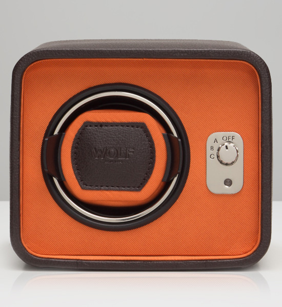 Windsor Single Winder (Brown/Orange)