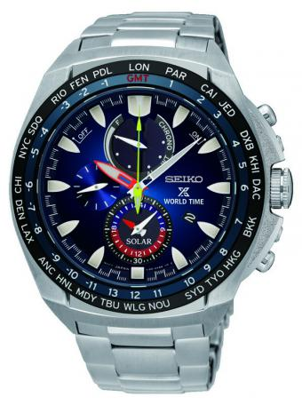 PROSPEX World Time Solar Chronograph