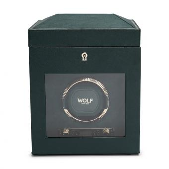 WOLF British Racing Single Watch Winder (Green)