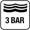 3 bar (30 m) cseppálló